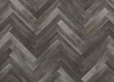 Afbeelding van Aspecta One Washed Wood Midnight 1126816 Visgraat 609,6x101,6x2,5mm 0,55PU 36st. 2,23m²
